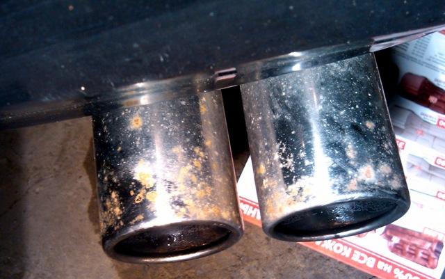 Чем убрать ржавчину с хромированной поверхности