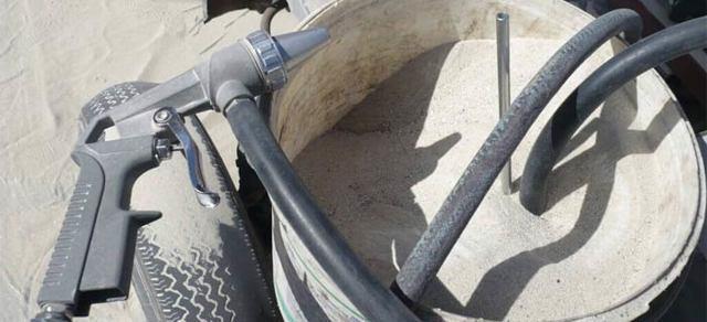 где взять песок для пескоструя