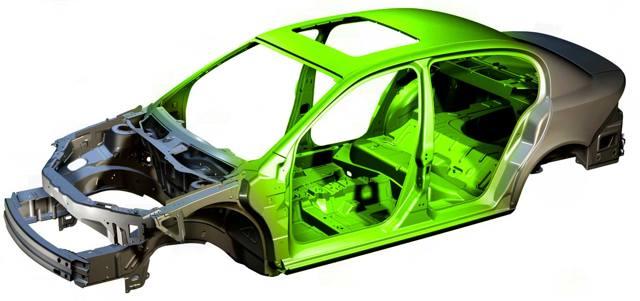 Конструкция несущего кузова автомобиля