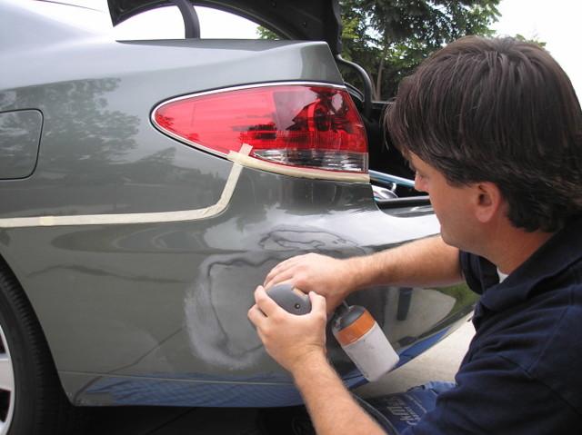 Как убрать шагрень после покраски авто