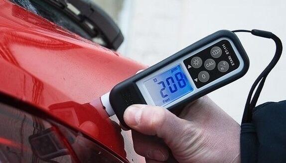 Толщина краски на автомобилях. Измерение и сравнение по таблице. Приборы для работы.