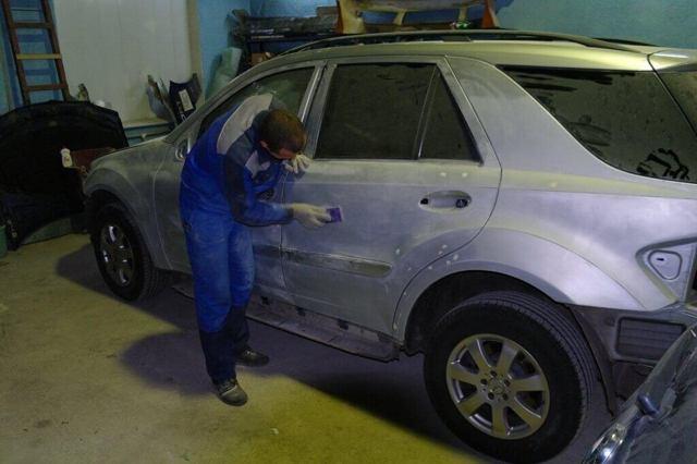 Покраска авто раптором своими руками. Технология, плюсы и минусы материала.