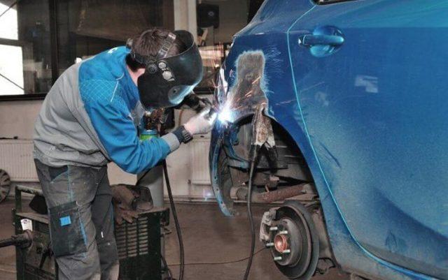 Инструкция по сварке кузова автомобиля для начинающих