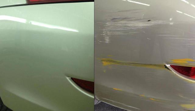 Точечная покраска кузова автомобиля своими руками