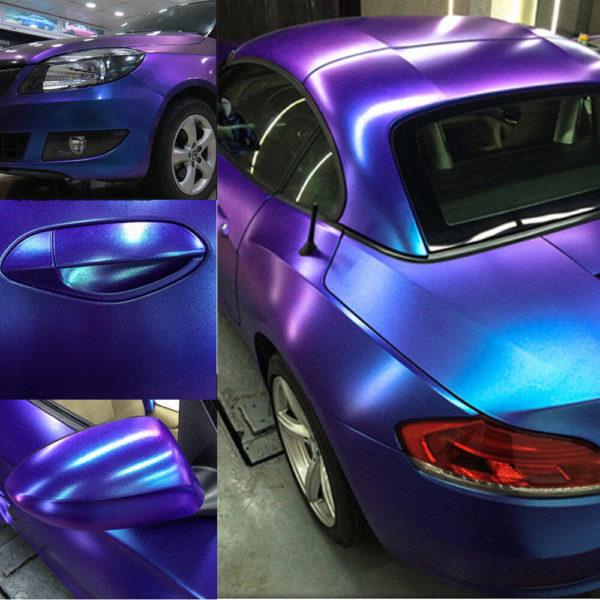 Покраска авто в хамелеон. Выбор краски и технология проведения работ своими руками.