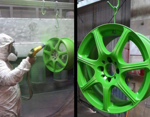 Покраска дисков в два цвета своими руками. Придаем автомобилю эксклюзивный вид.
