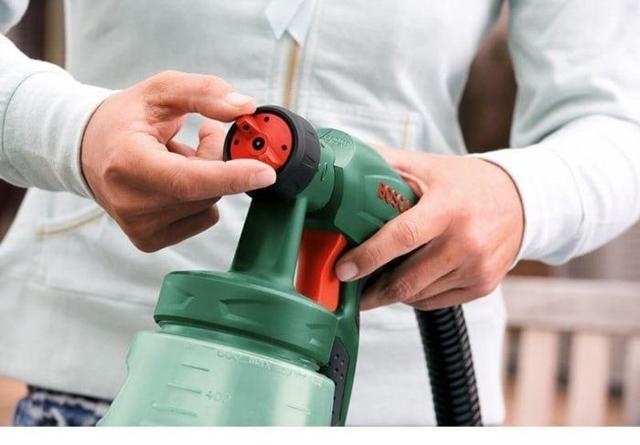 Настройка краскопульта. Входное давление, подача краски, размер сопла, размер и форма факела.