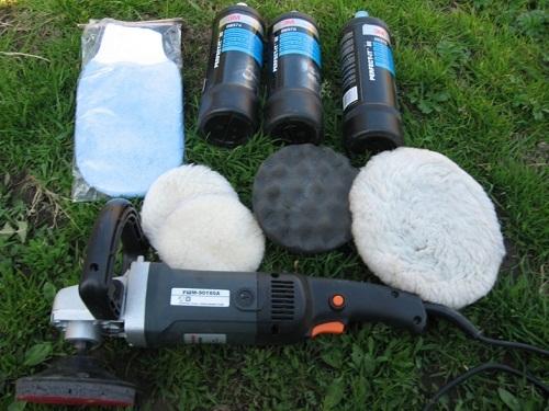 Ручная полировка кузова автомобиля абразивными пастами. Технология проведения работ.